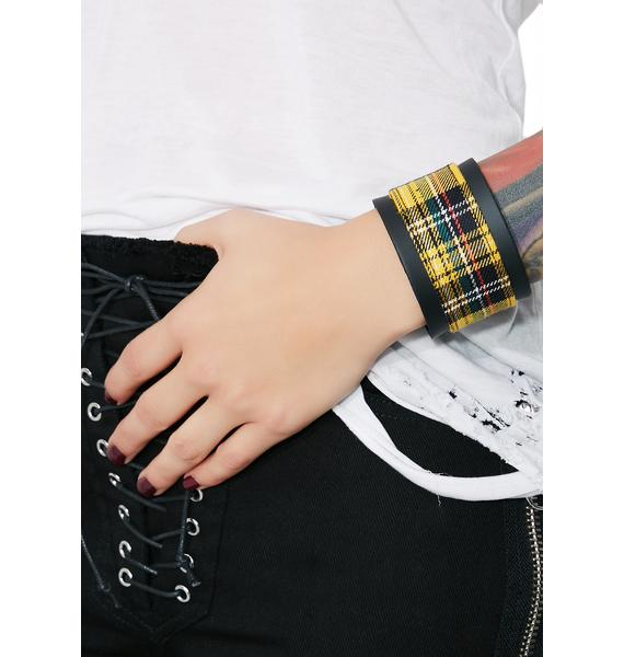 Misunderstood Plaid Bracelet