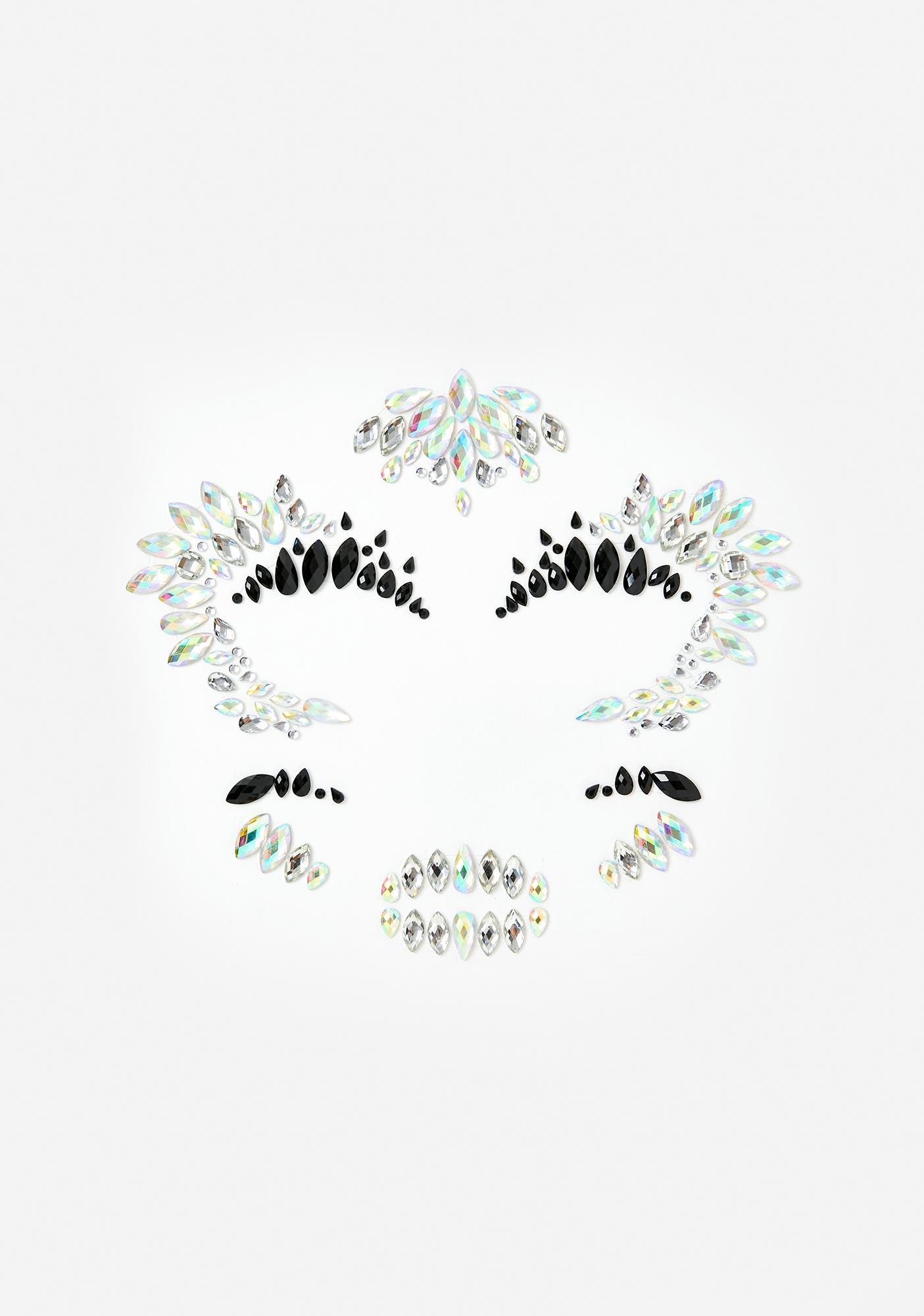 SHRINE Skull Iridescent Face Jewels