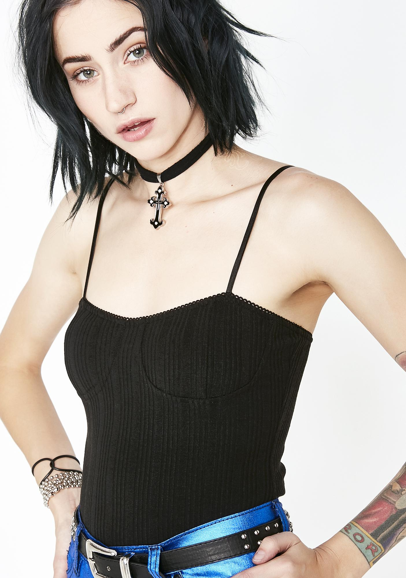 Sinful New Rulez Bustier Cami