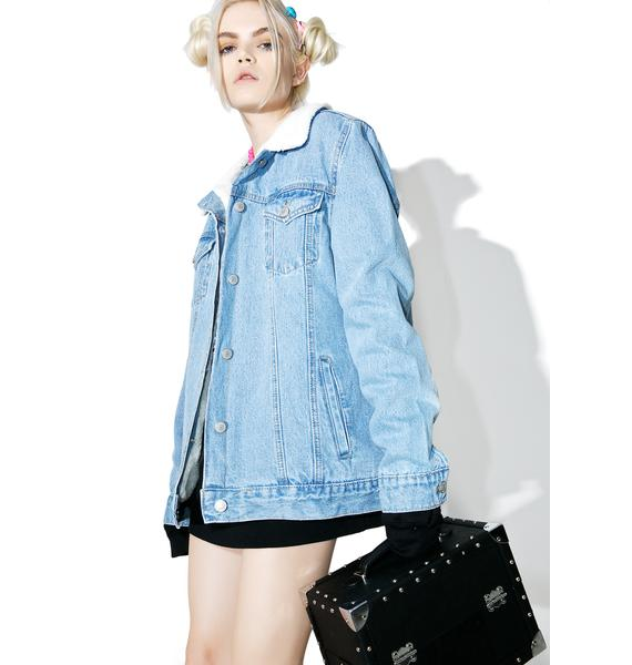 Glamorous Forever Or Never Denim Jacket