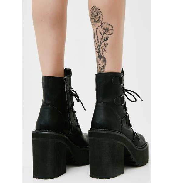 Killstar Broom Rider Boots
