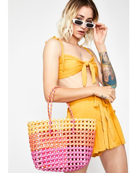 Craving Summer Basket Bag