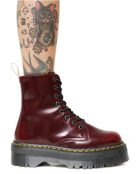 Cherry Vegan Jadon II Boot