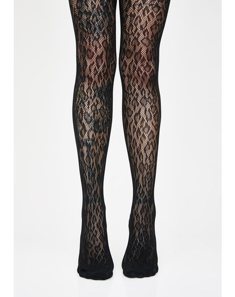 Savage Stunt Leopard Tights