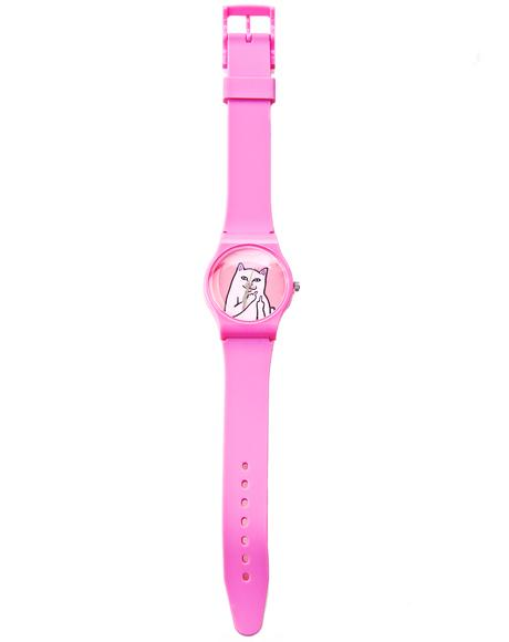 Pink Lord Nermal Watch