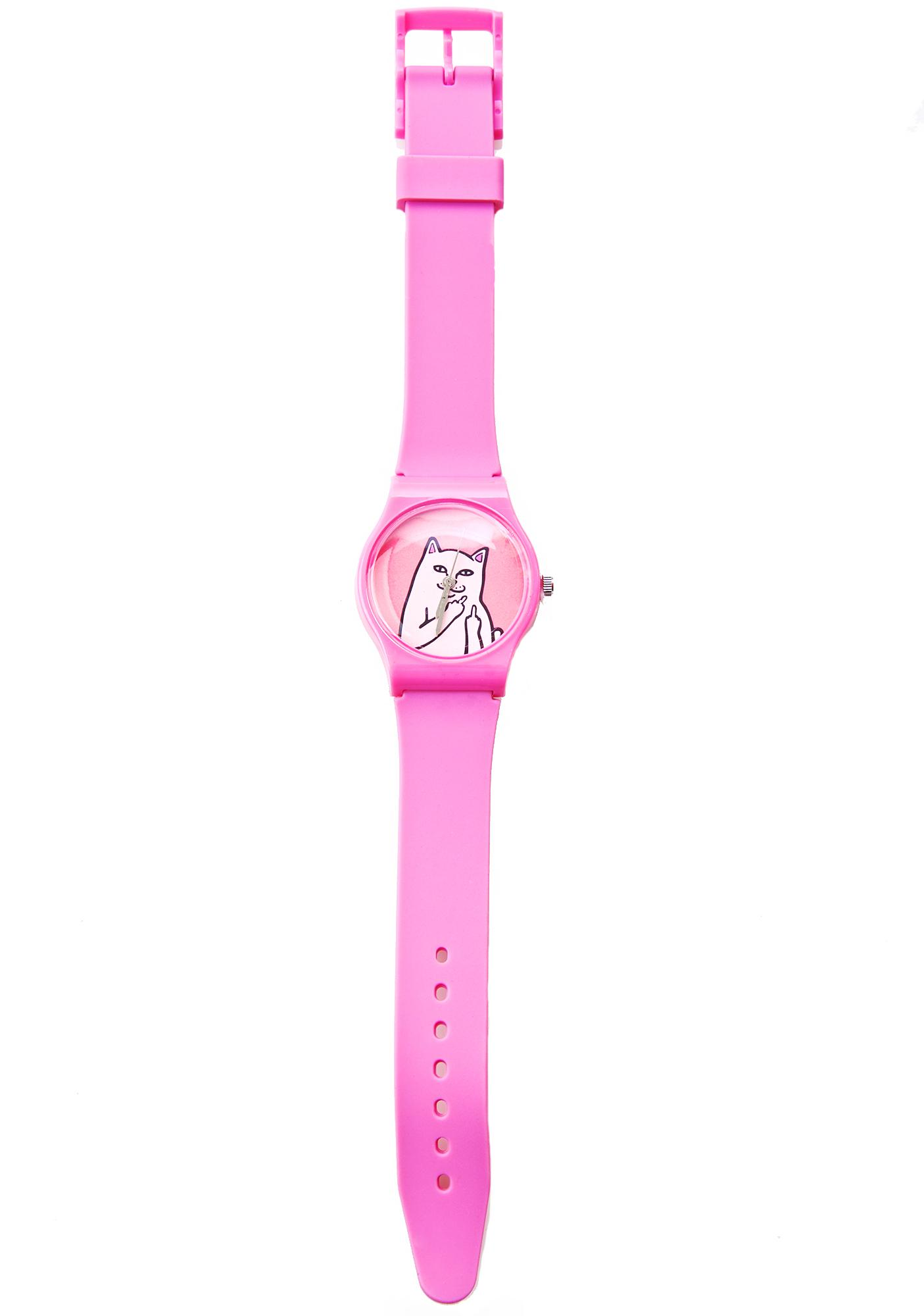RIPNDIP Pink Lord Nermal Watch