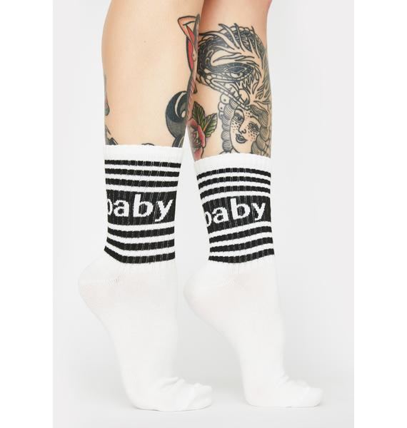 MeMoi Baby Girl Crew Socks