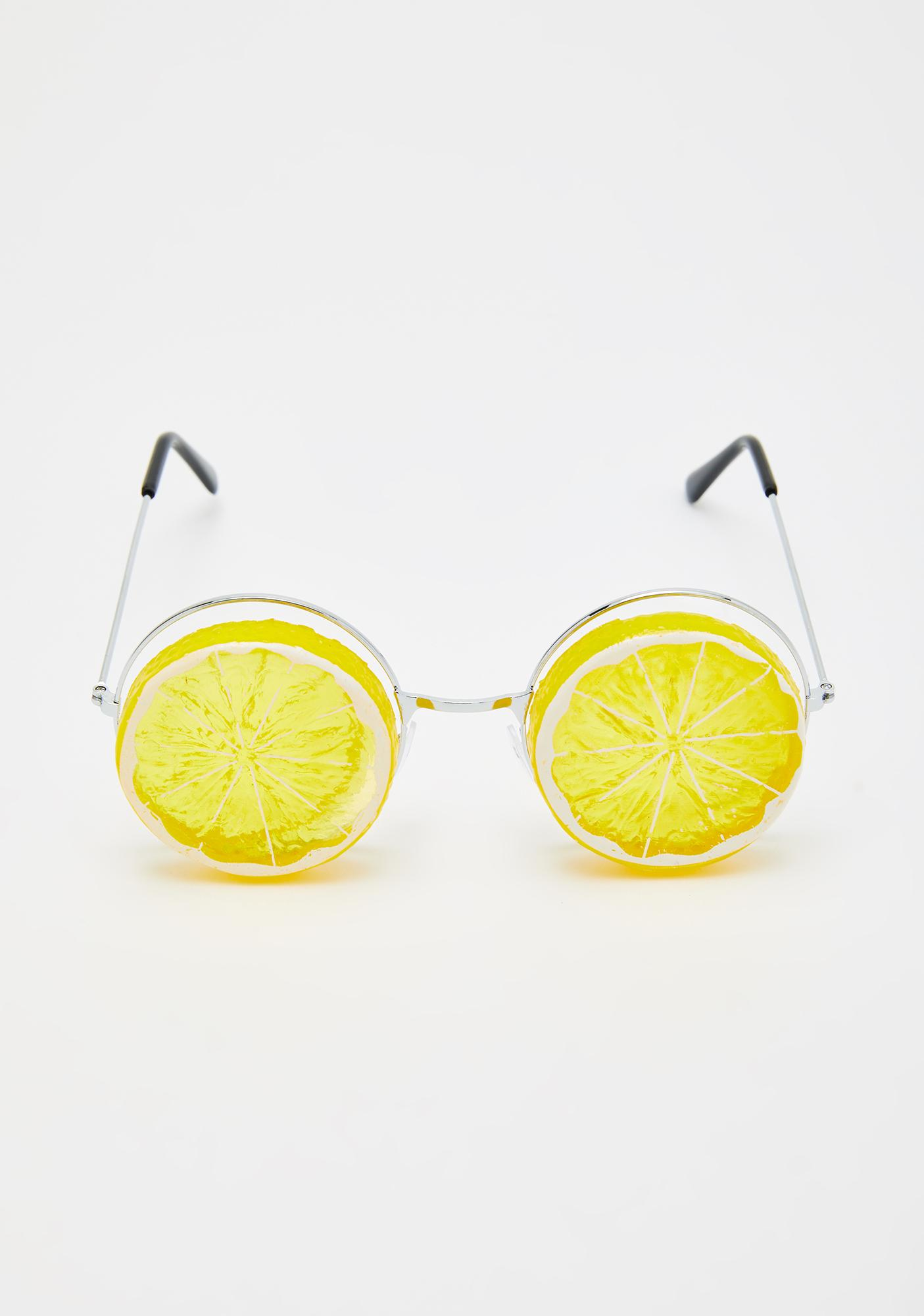 Squeeze The Day Circle Sunglasses