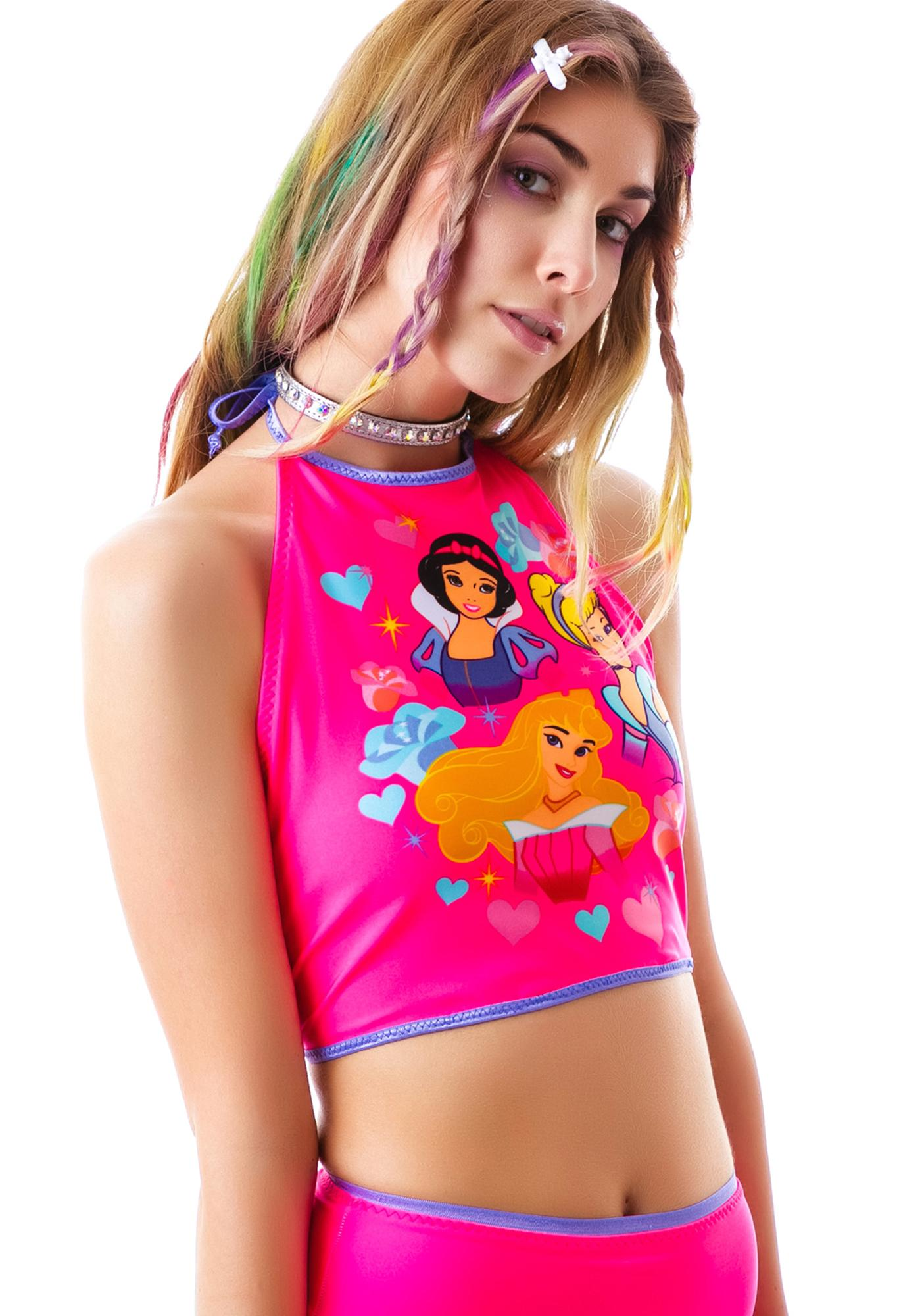 Lil Pretty Princess Halter Top