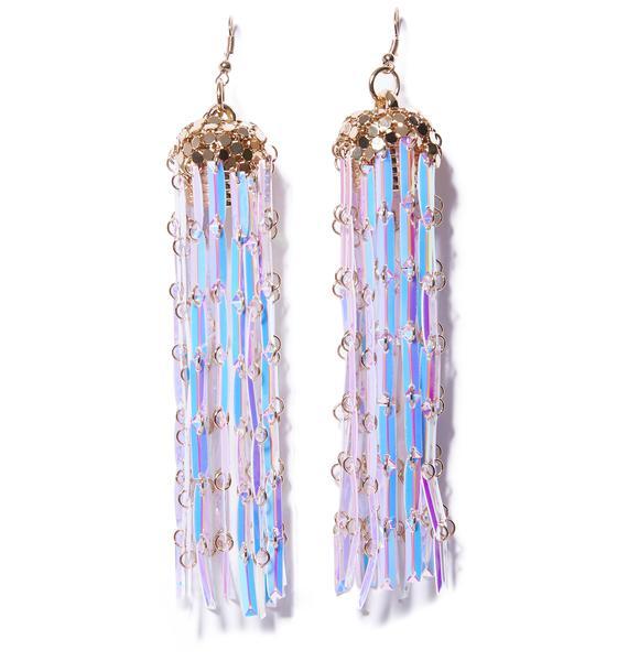 Mermaid Dreamz Fringe Earrings