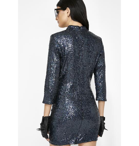 Midnight Magic Sequin Dress