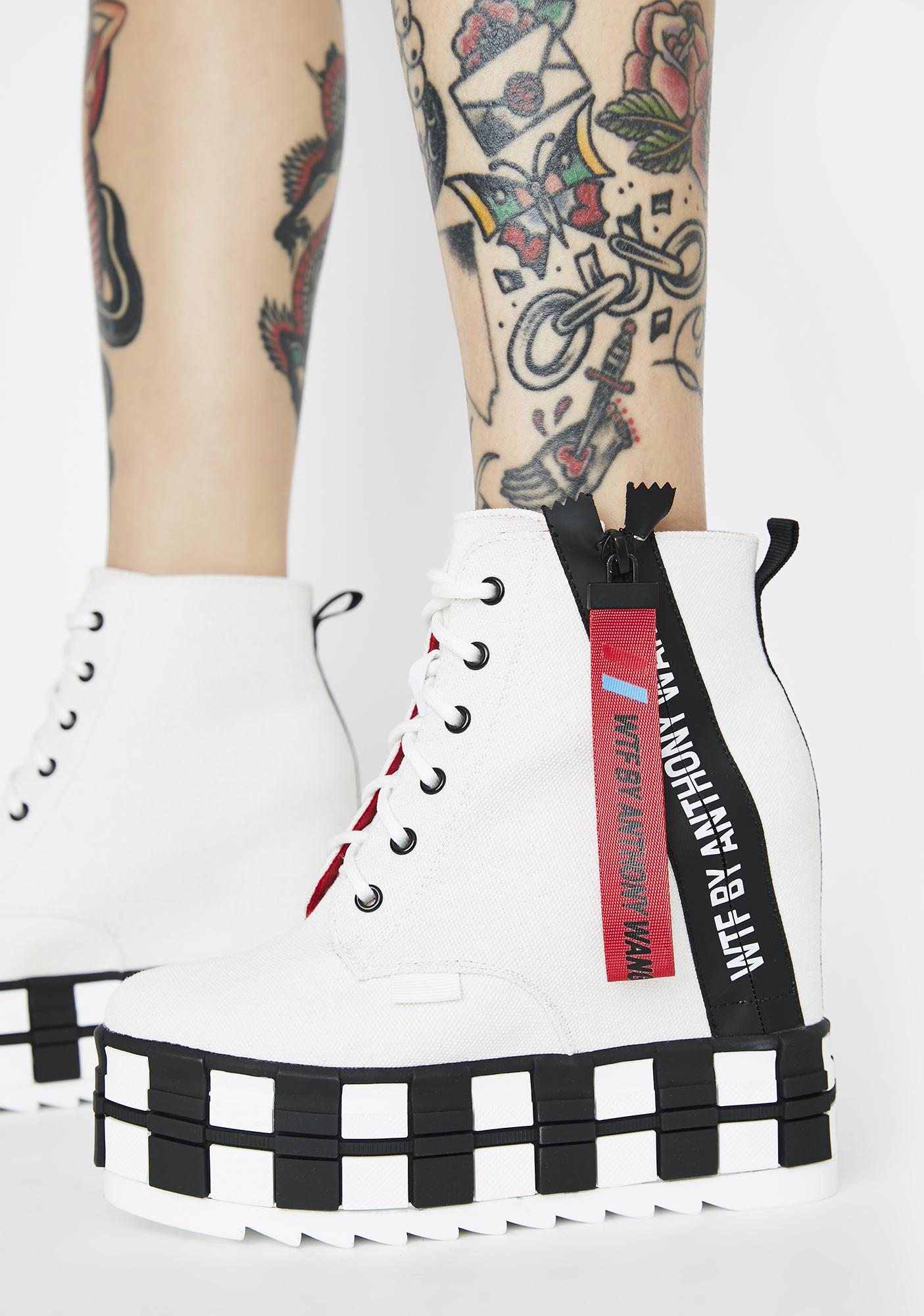 Icy Rep The Realest Platform Sneakers