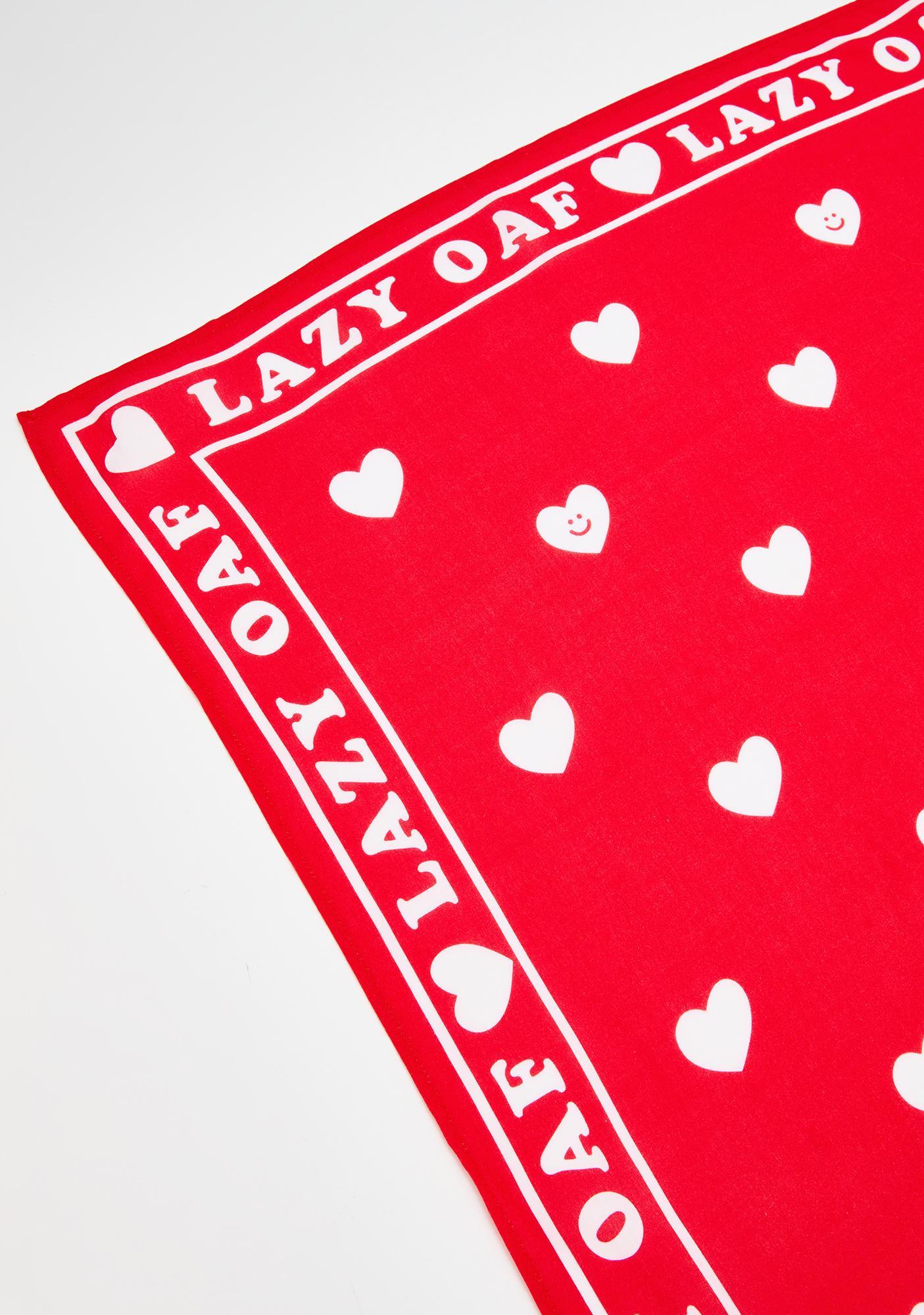 Lazy Oaf Lazy Hearts Bandana