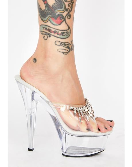 Queen Bae Platform Heels