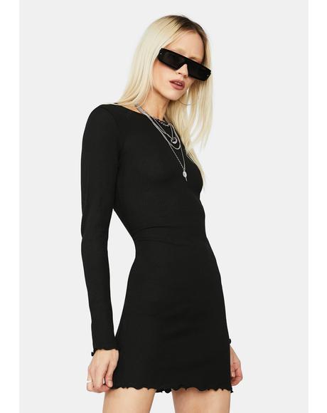 Total Keeper Thermal Mini Dress