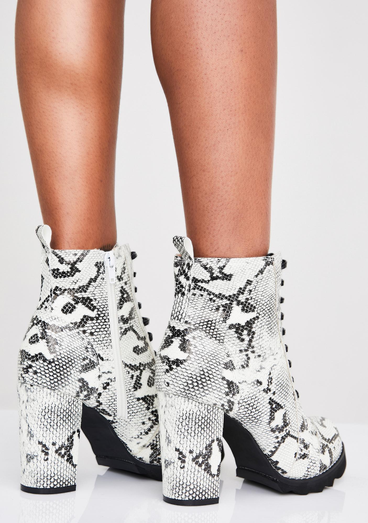 Savage Not Ya Type Heeled Boots
