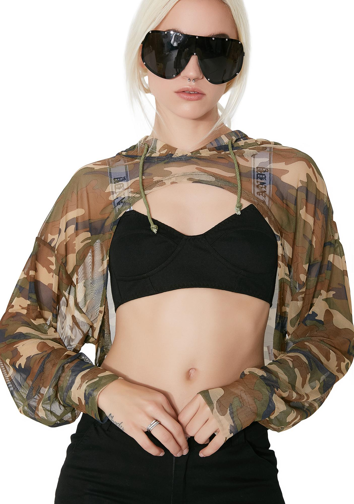 About Face Camo Hoodie