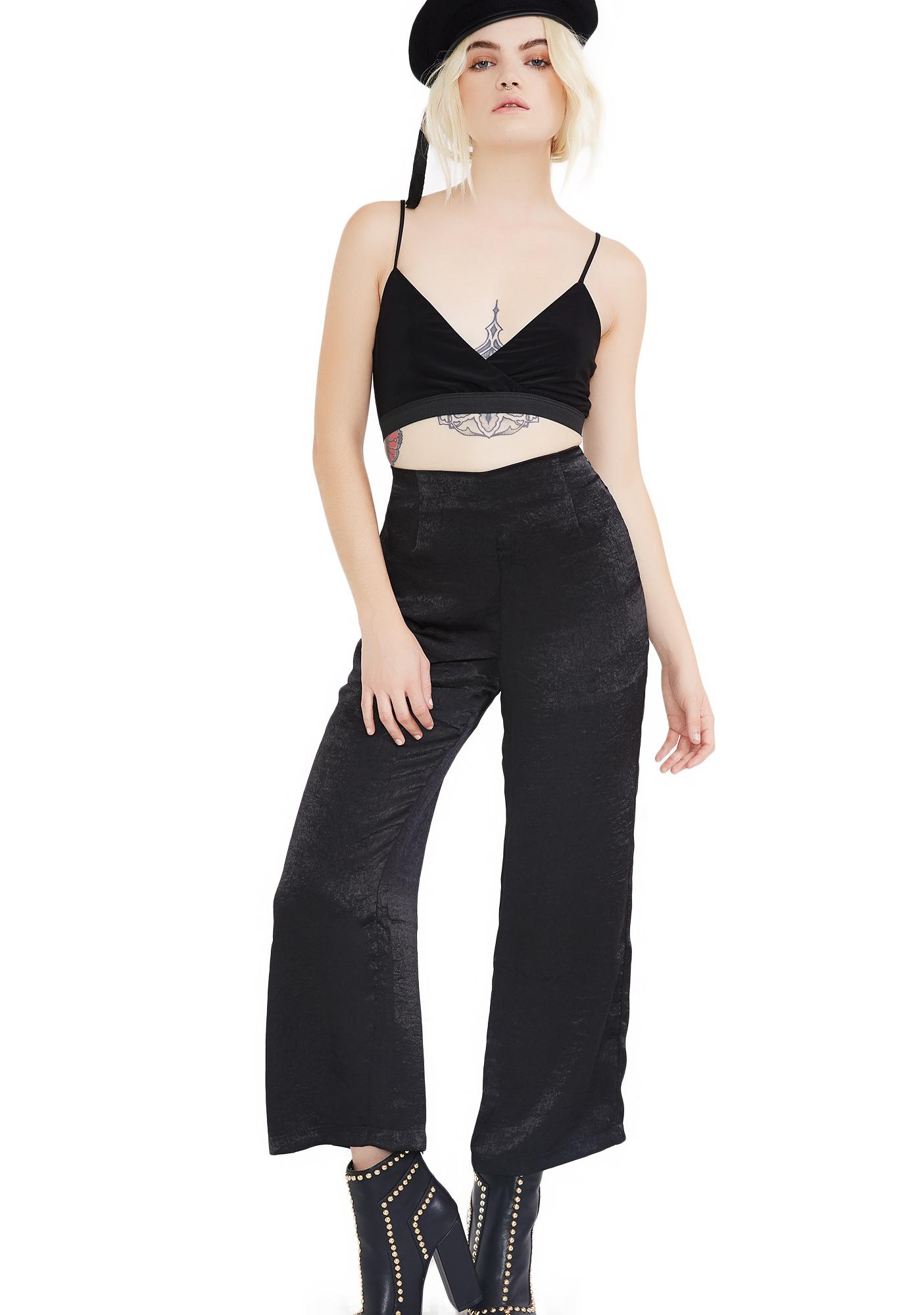 First Class Femme Cropped Pants