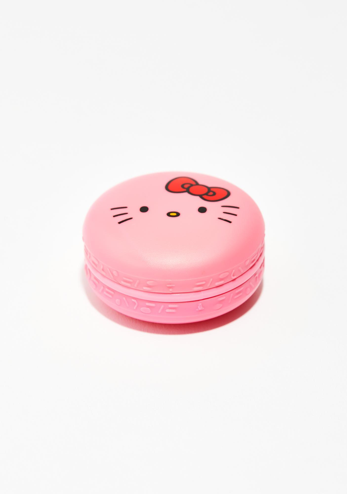 The Crème Shop Hello Kitty Cake Macaron Lip Balm
