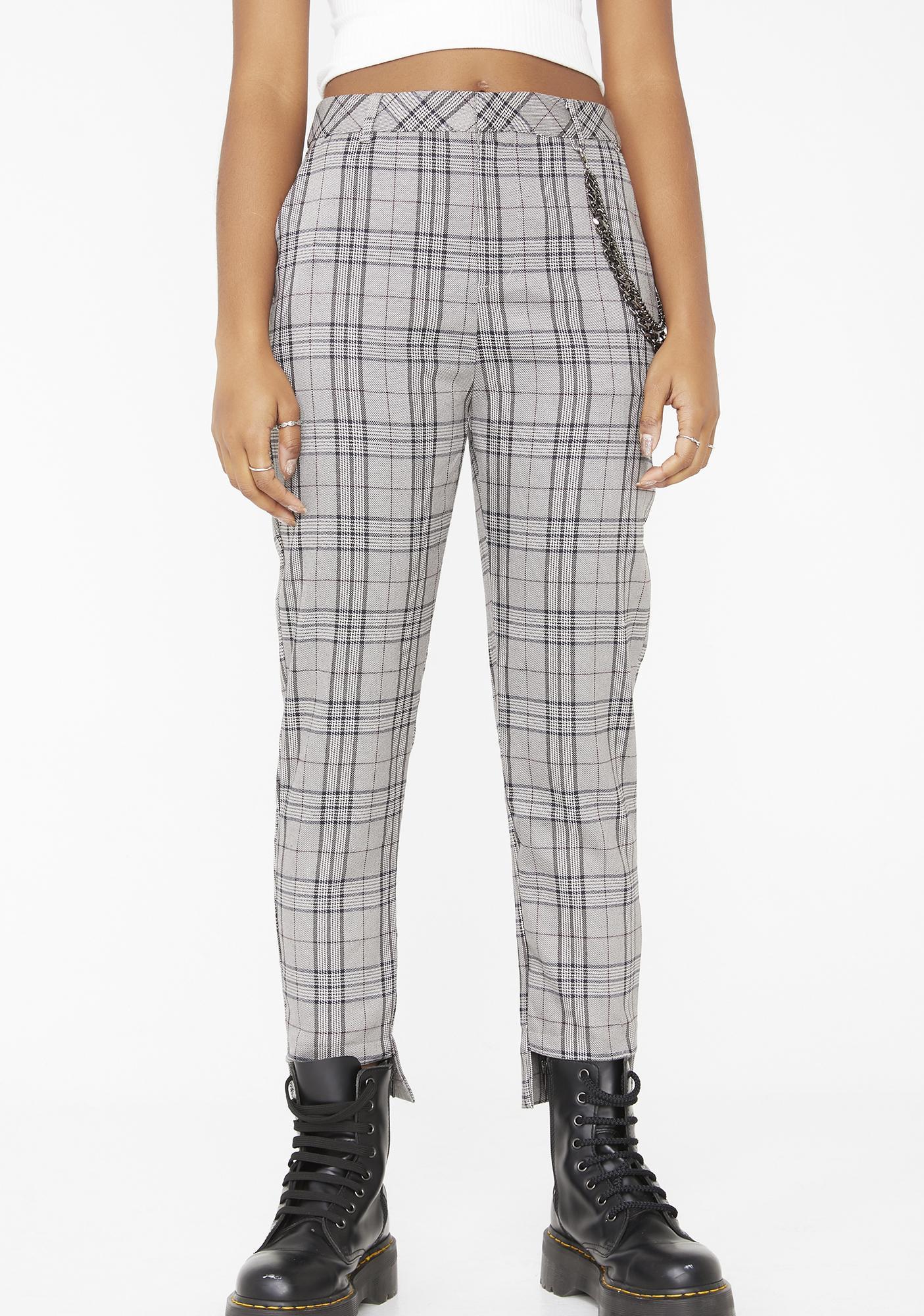 9bce95565134c Honey Punch Punk Standard Plaid Pants