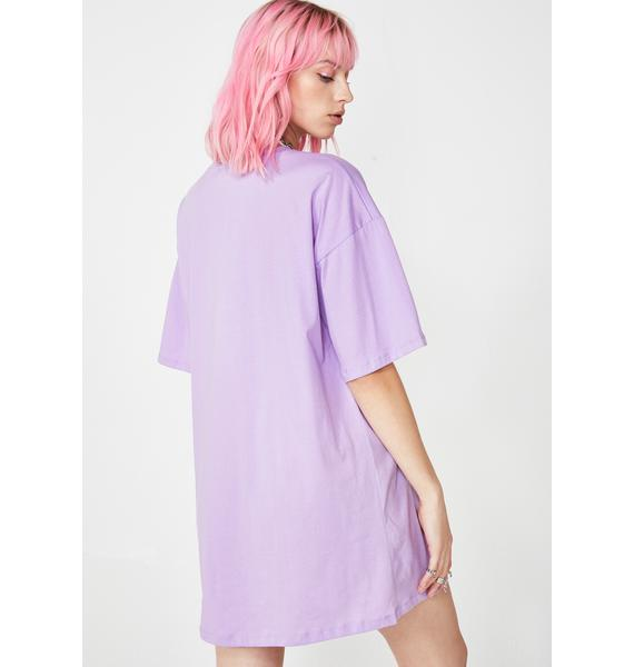 Motel Lilac Sunny Kiss Dress