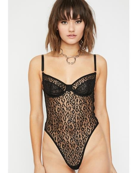 Luxx N' Lavish Sheer Bodysuit