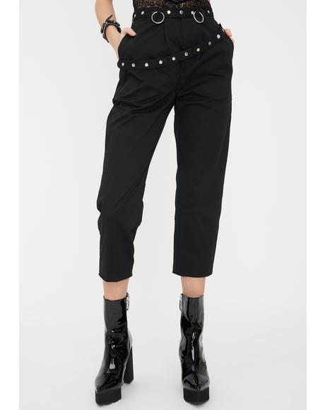 Darkness Studded Trousers