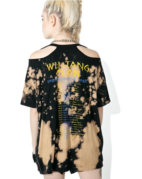 Wu Tang Clan Destroyed Boyfriend Tee