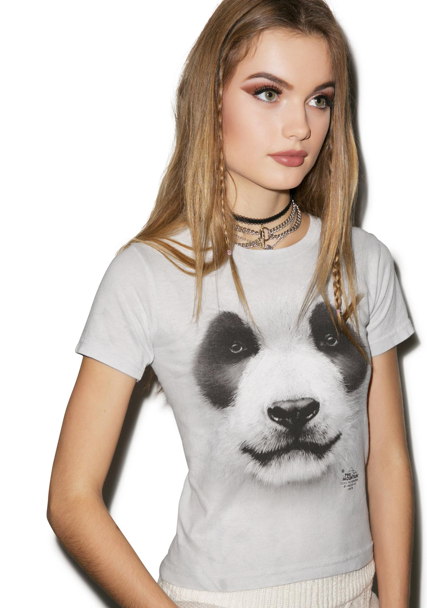Big Face Panda Top
