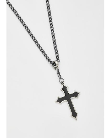 Osbourne's Cross Necklace