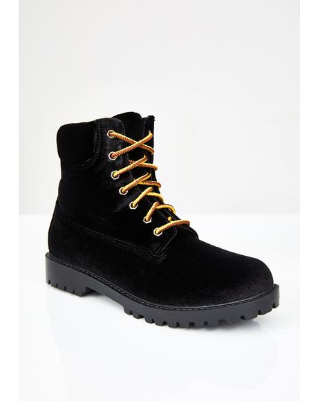 Wicked Boss Baddie Combat Boots