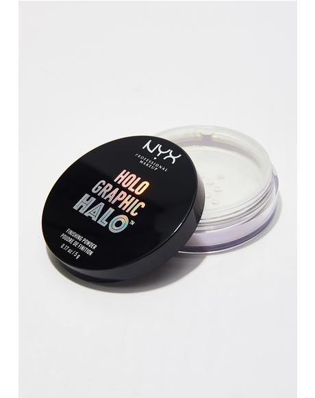 Mermazing Holographic Halo Finishing Powder