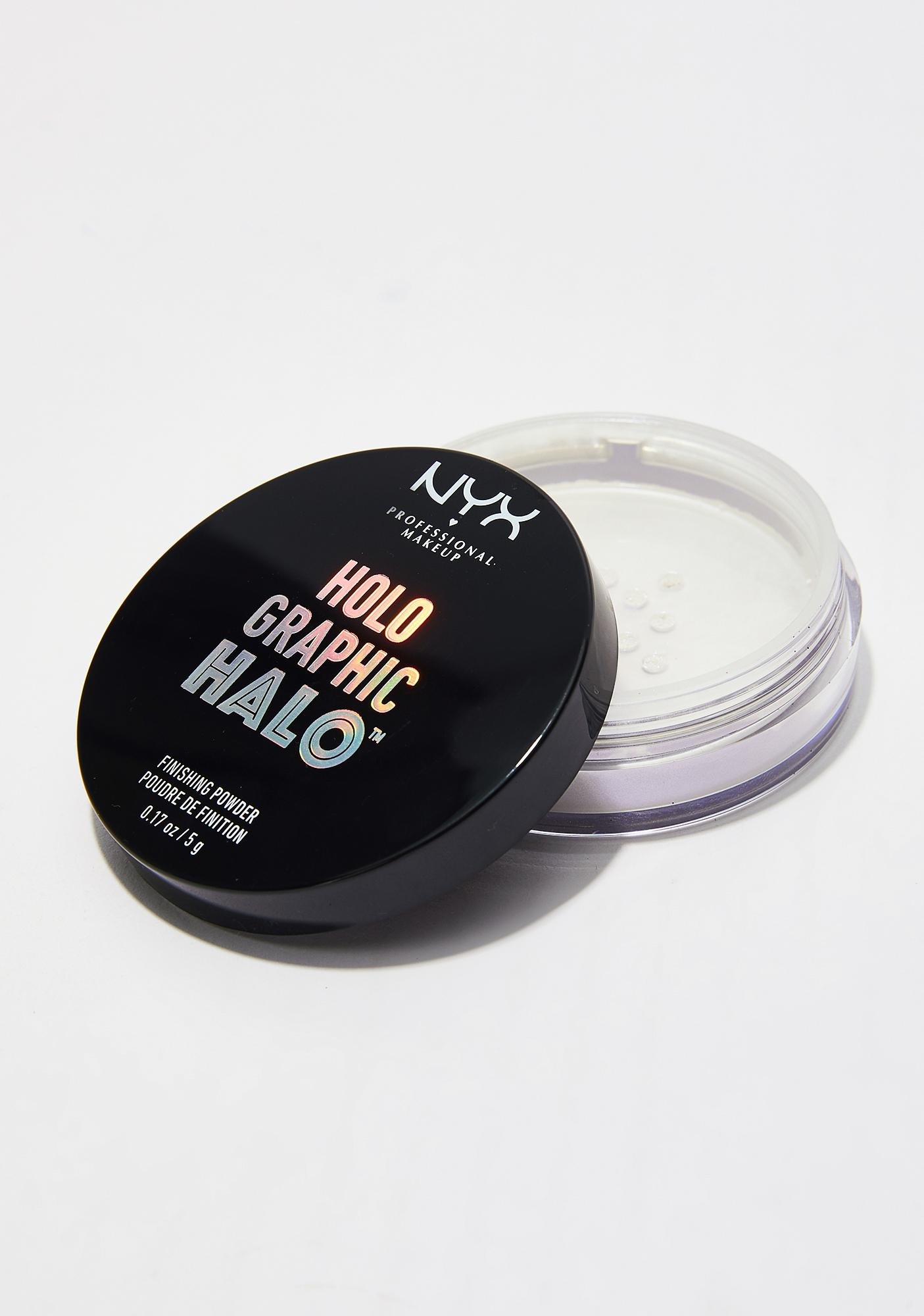 NYX Mermazing Holographic Halo Finishing Powder