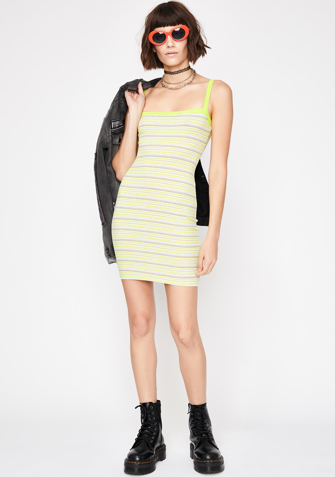Cool Grl Stripe Dress