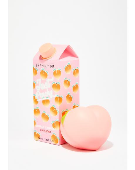Just Peachy Bath Soak