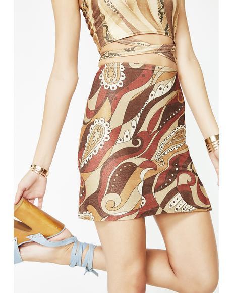 A La Mod Mini Skirt