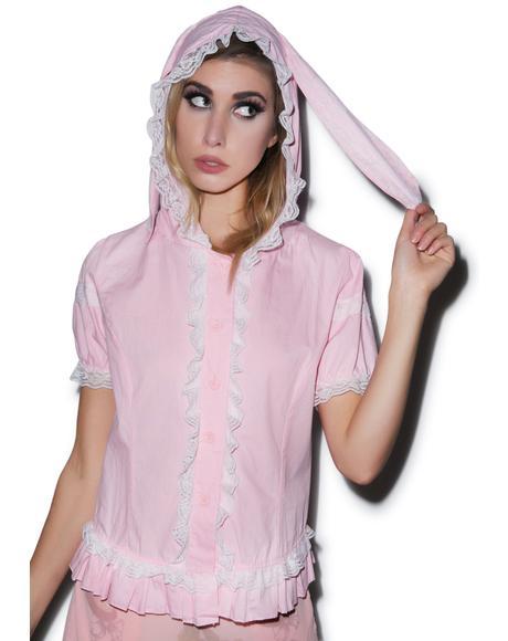 Usagi Rabbit Hooded Top
