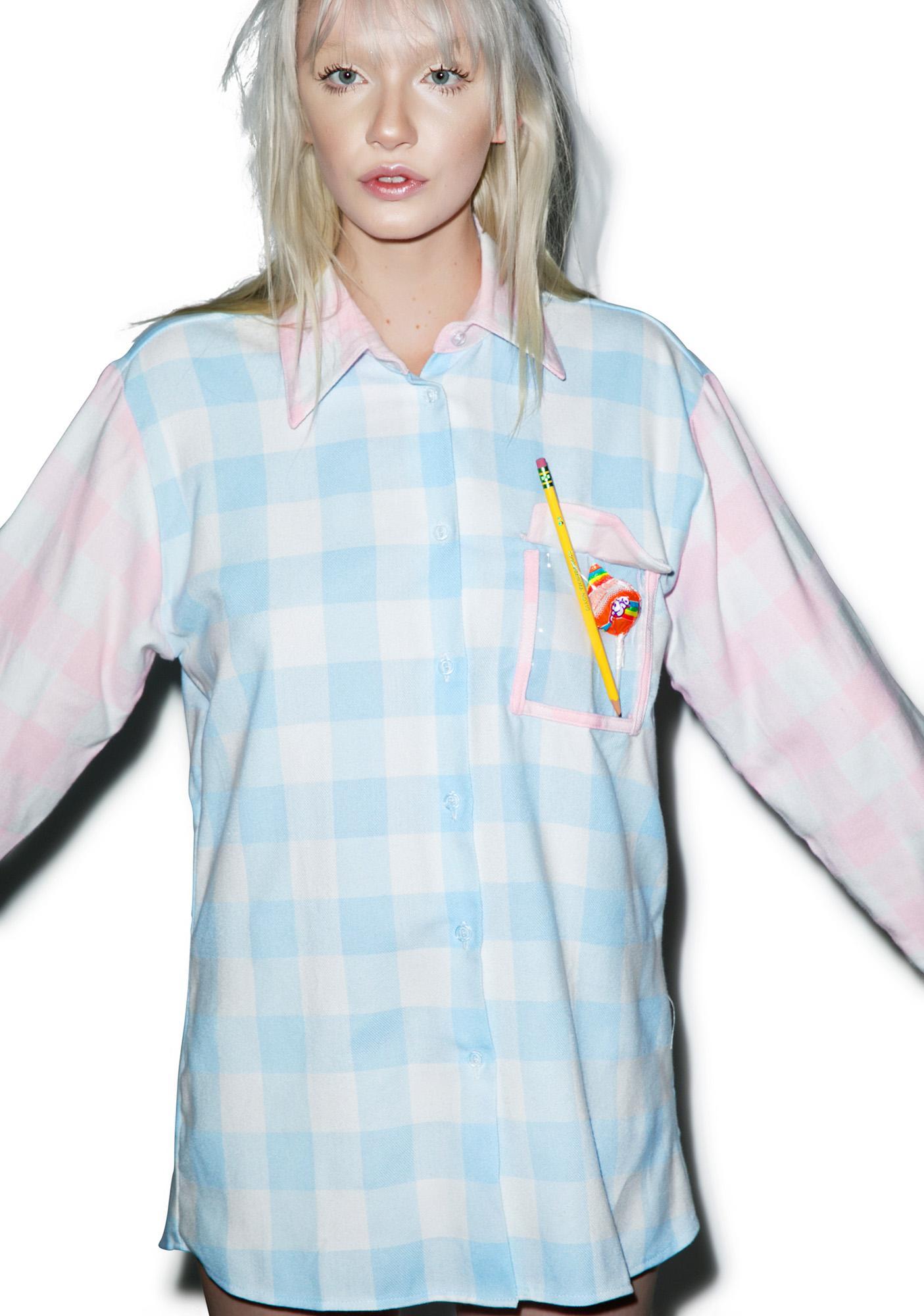 Local Heroes Pastel Plaid Shirt