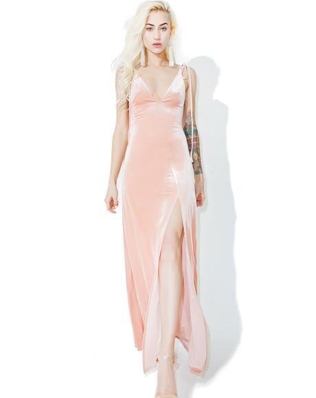 So Swanky Velvet Maxi Dress