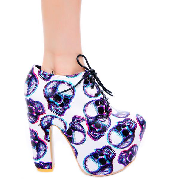 Iron Fist Third Dimension Super Platform Bootie
