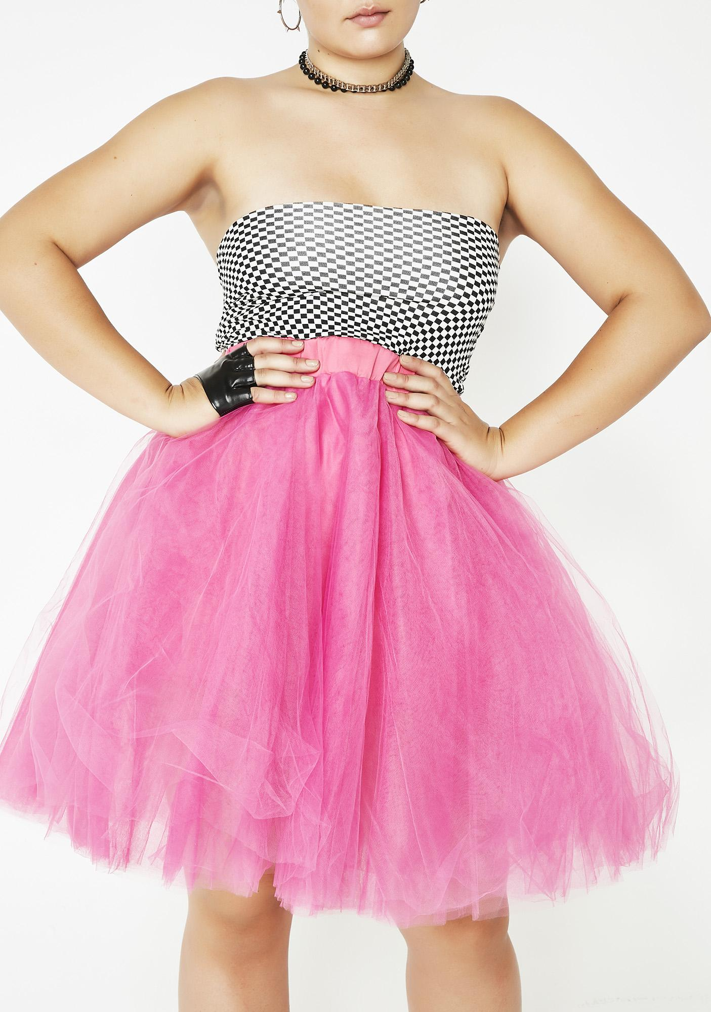 Scarlet Picture Perfect Tulle Skirt