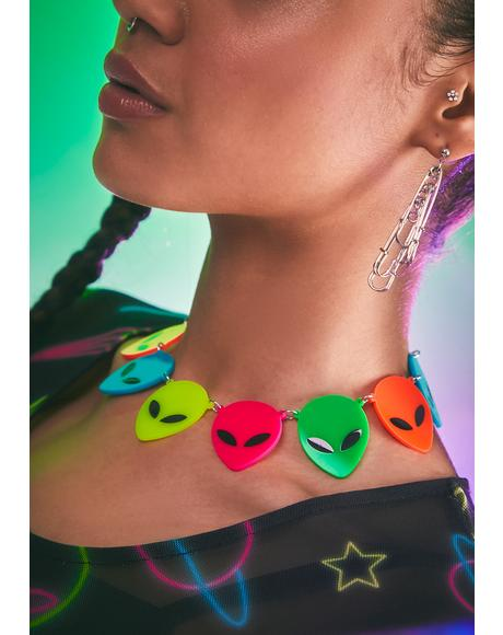 Give Me Some Space Alien Choker