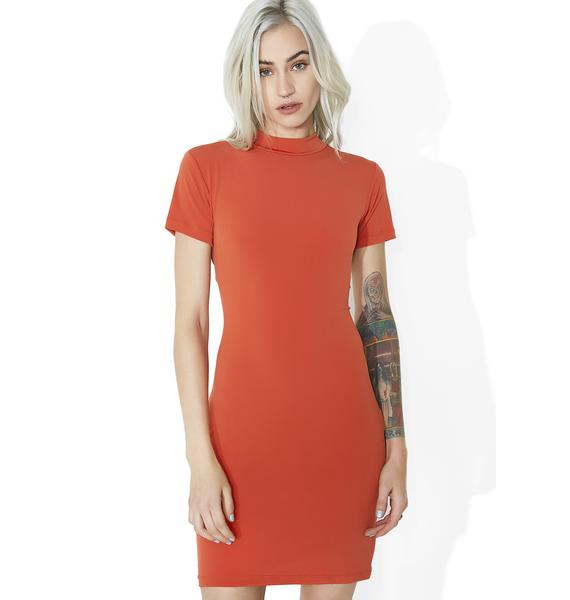 Motel Sunrise Koney Knot Dress