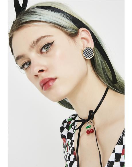 Spoiled Rotten Circle Earrings