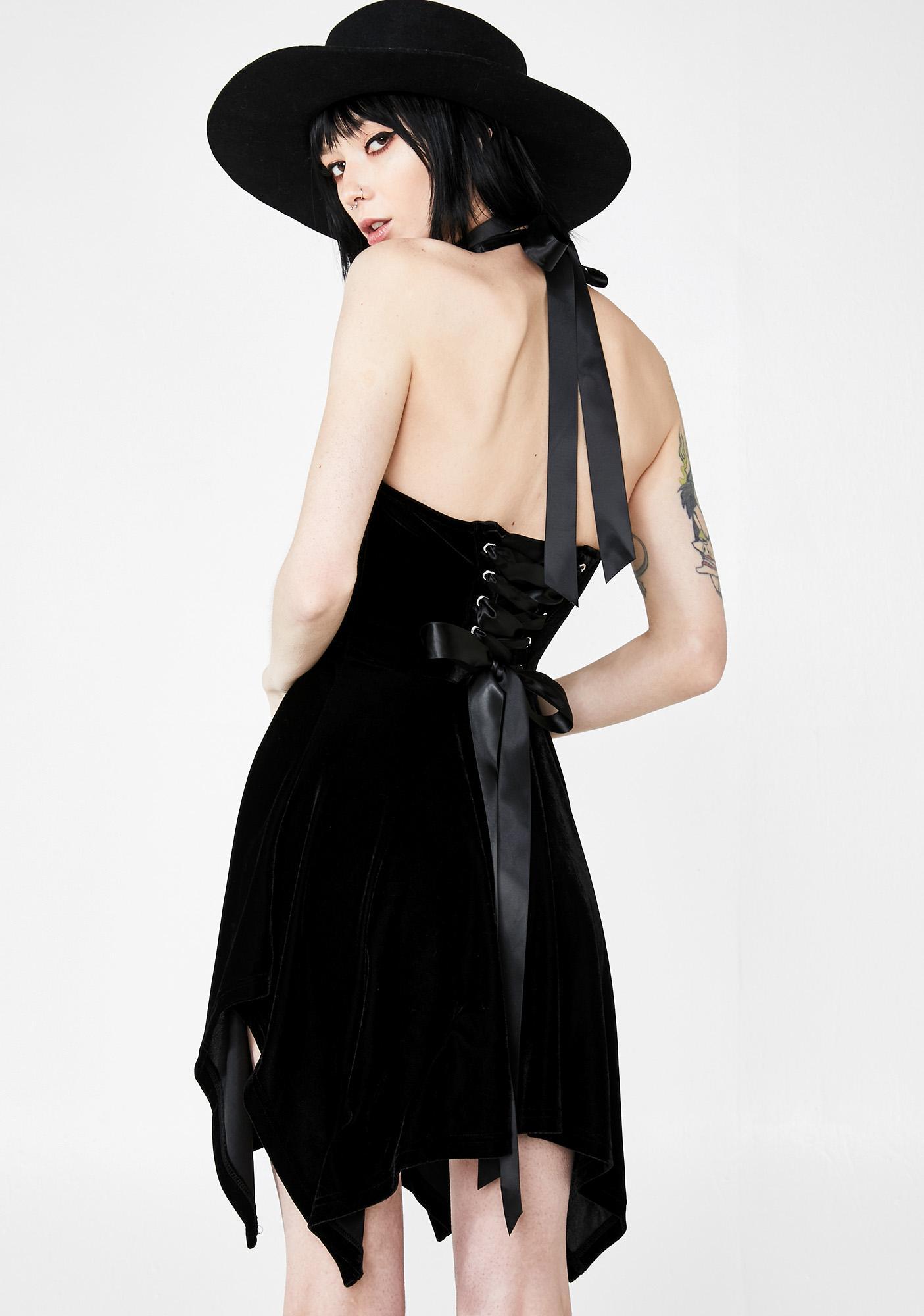 Killstar Zarya Velvet Dress