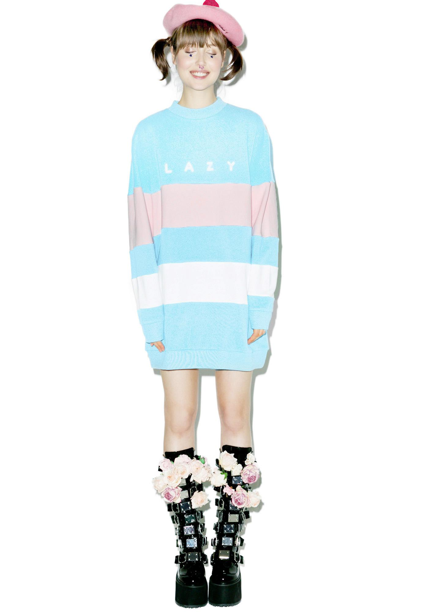 Lazy Oaf Lazy Stripe Sweatshirt