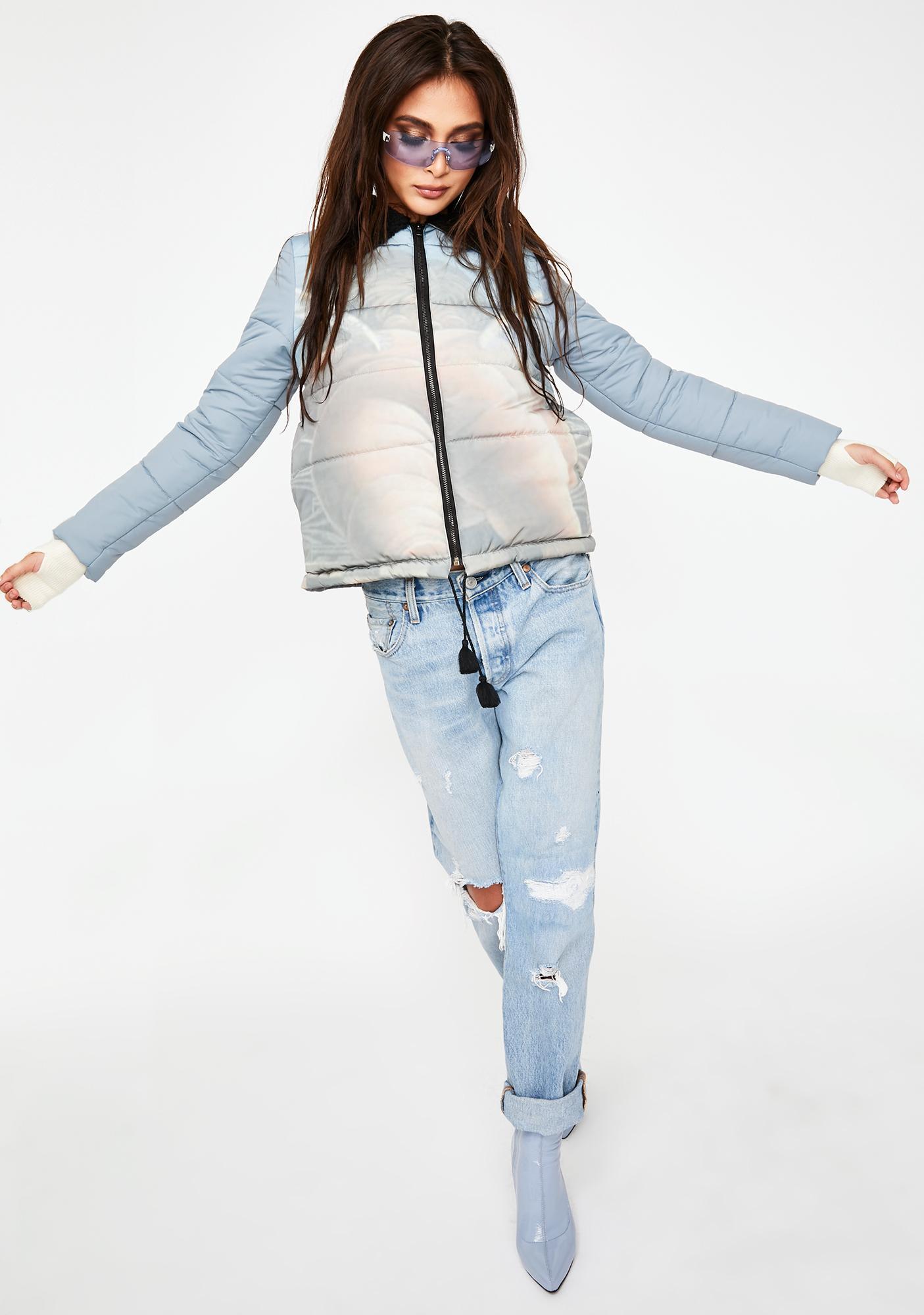 ZEMETA Cupid Bottom Puffer Jacket