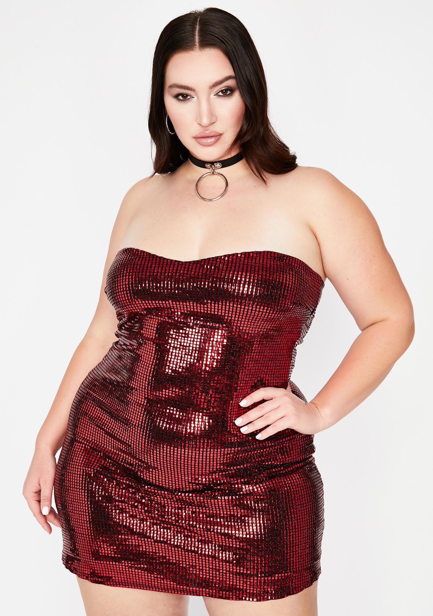 Fire Always Guest List Girl Sequin Dress