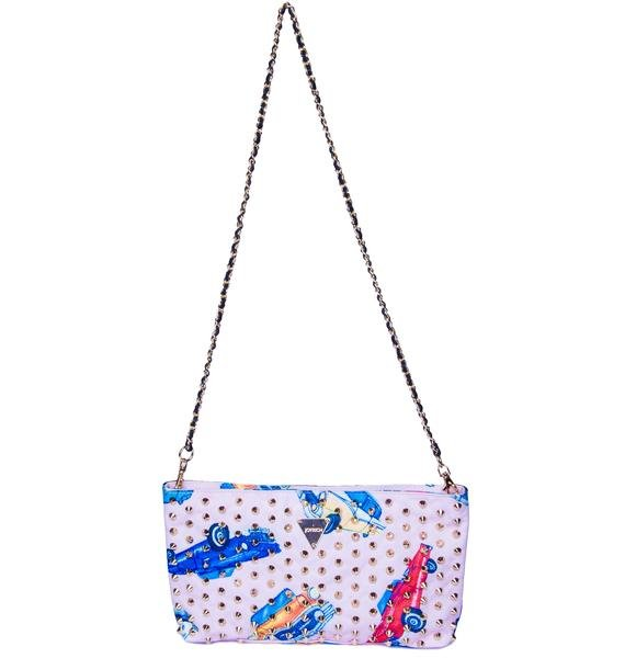 Joyrich Car Camp Clutch Bag