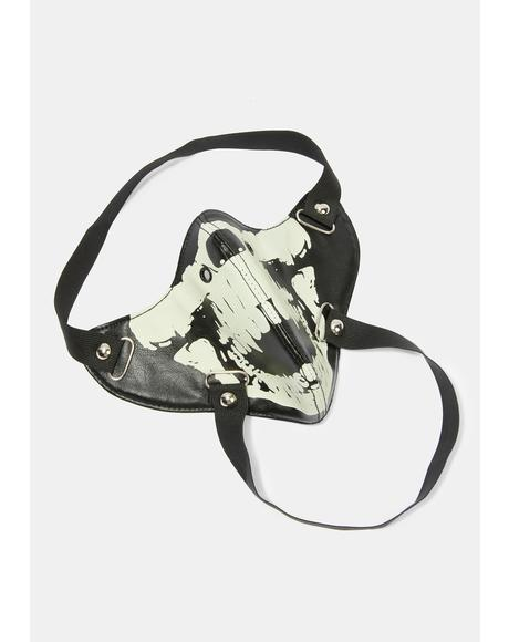 Saving Face Skull Face Mask